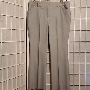 WORTHINGTON MODERN FIT PINSTRIPE PANTS SZ 12P